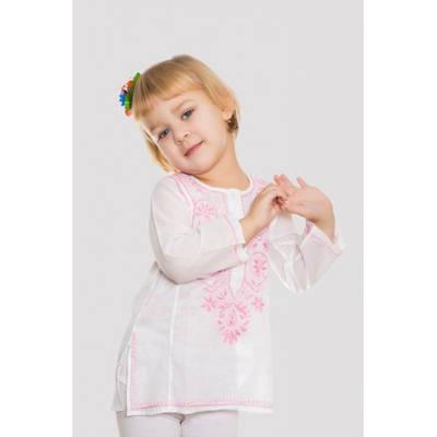 Туника детская с вышивкой   (ручная работа)
