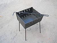 Мангал на 6 шампуров + Кочерга