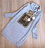 Р.128,140 детское платье c живыми паеткам