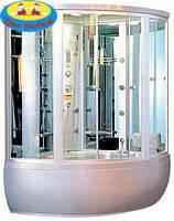 Паровая кабина  гидромассажный бокс гидробокс Appollo (Аполло) GUCI 856 (1480x1480x2200мм)БЕЛЫЙ