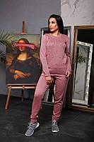 Женский стильный вязаный костюм (2 расцветки) , фото 1