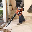 Аккумуляторный садовый пылесос с измельчителем BLACK+DECKER GWC3600L20, фото 3