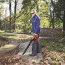 Аккумуляторный садовый пылесос с измельчителем BLACK+DECKER GWC3600L20, фото 4