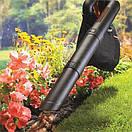 Аккумуляторный садовый пылесос с измельчителем BLACK+DECKER GWC3600L20, фото 5