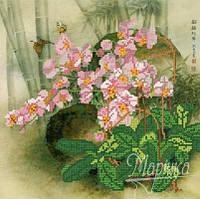 Схема для вышивки бисером Орхидеи РКП-054