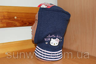 Детская шапка-шлем для девочек Sun City