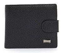Мужской стильный классический кошелек с искусственной кожи FUERDANNI art. 4355-0001 черный, фото 1