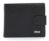 Стильний класичний чоловічий гаманець з штучної шкіри FUERDANNI art. 4355-0001 чорний
