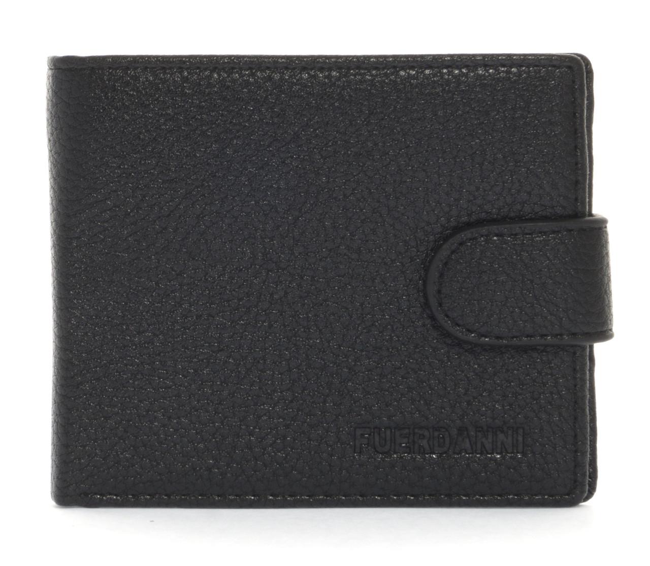 Стильний класичний чоловічий гаманець з штучної шкіри FUERDANNI art. 4355-0002