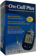 Глюкометр On Call Plus полная комплектация, пр-ва США, фото 1