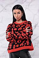 Укороченный свитер свободного кроя  ЛЧ 007/02, фото 1
