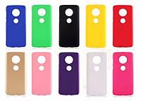 Пластиковый чехол накладка Alisa для Motorola Moto E5 Plus (11 цветов)