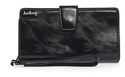 Деловая барсетка унисекс с большим количеством отделов качественной эко кожи BAELLERRY art. 2503