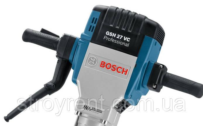 Отбойный молоток Bosch GSH 27 VC - аренда, прокат, фото 2