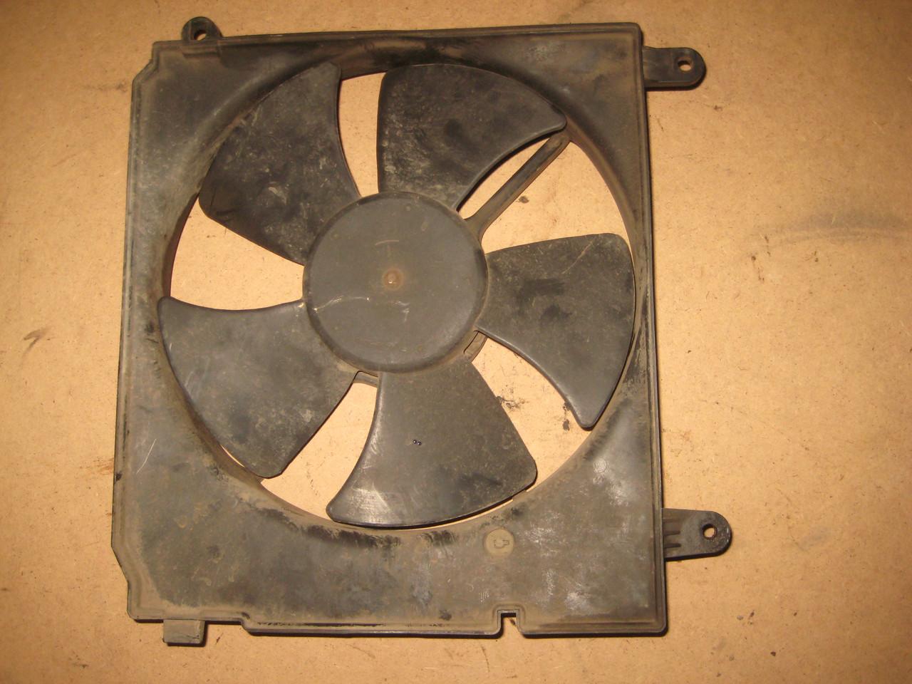 Мотор электродвигатель вентилятор радиатора + диффузор Daewoo Lanos Деу Део Ланос