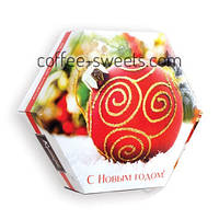 Набор шоколадных конфет Шары шестигранник Кутюрье 130гр