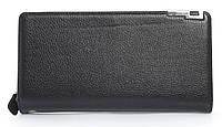 Мужской стильный классический портмоне барсетка с качественной PUкожиFUERDANNI art. 882 ЧЕРНЫЙ, фото 1