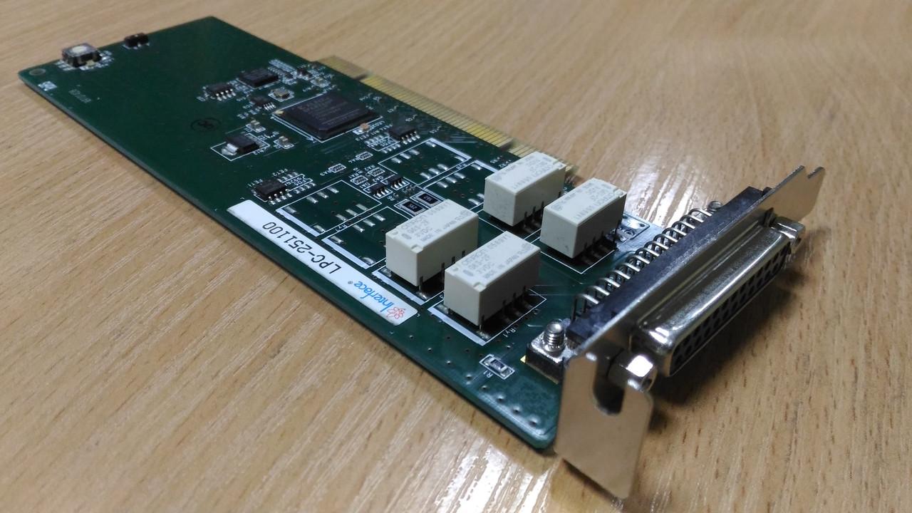 Промышленное оборудование плата интерфейса LPC-251100 PCI