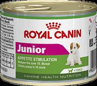 Royal Canin Junior (Роял Канин Юниор) - консервы  для щенков в возрасте до 10 месяцев 195г*12шт
