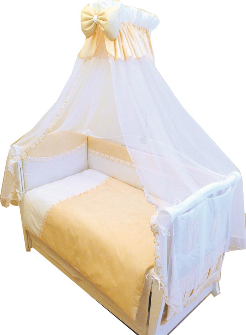 Детская постель Twins Magic sleep  M-002 желтый 8 предметов