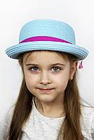 Шляпа детская Дори голубая