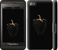 """Чехол на Blackberry Z10 Черная клубника """"3585c-392-328"""""""