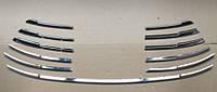 Toyota Camry хром накладки на решетку радиатора TOYOTA Тойота Camry V55 2015+ нижняя SS
