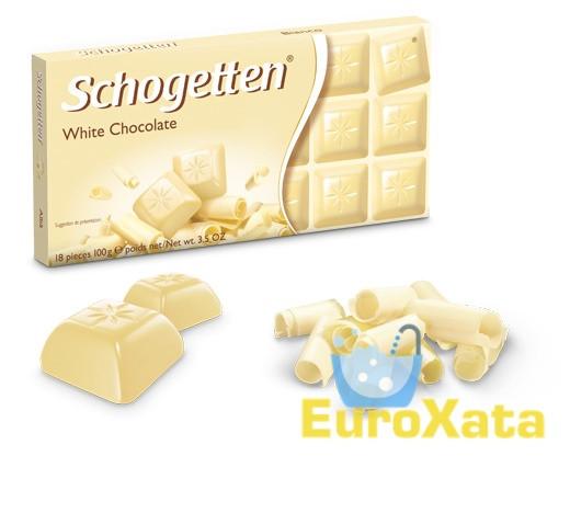 Шоколад Schogetten White Chocolate белый шоколад 100 гр