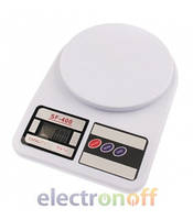 В Интернет-магазин Electronoff поступили в продажу точные кухонные весы SF-400 (до 7 кг) !