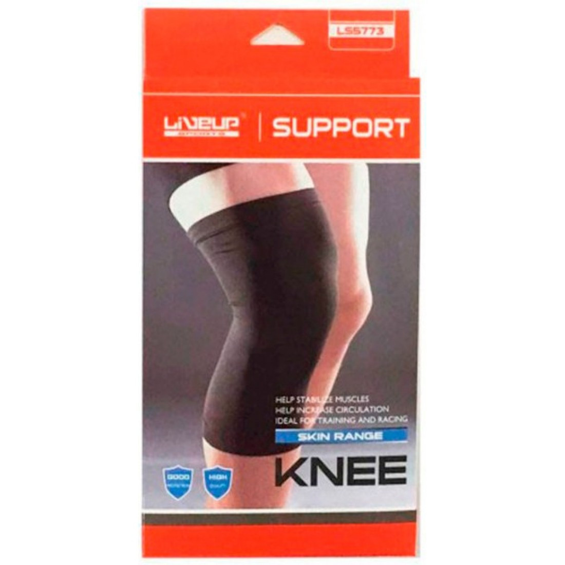 Фиксатор колена LiveUp KNEE SUPPORT, LS5773-LXL