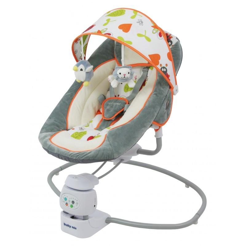 Крісло-гойдалка Baby Mix BY002 360grey