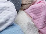 """Ткань """"Махровые minky"""" молочного цвета (М-73), фото 6"""
