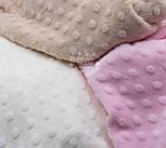 """Ткань """"Махровые minky"""" молочного цвета (М-73), фото 4"""