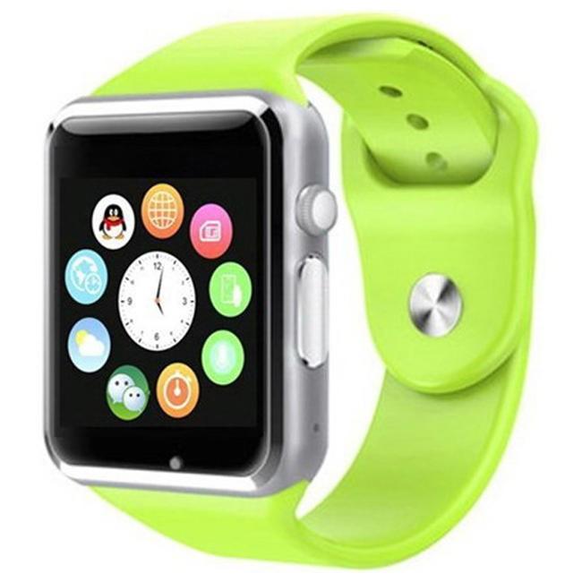 Смарт Часы Smart Watch Phone A1 Салатовые Оригинал