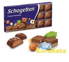 Шоколад Schogetten Nugat с ореховой начинкой 100 гр