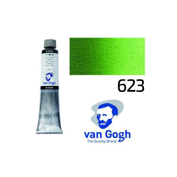 Краска масляная Van Gogh 623 Сочный зеленый 200 мл Royal Talens