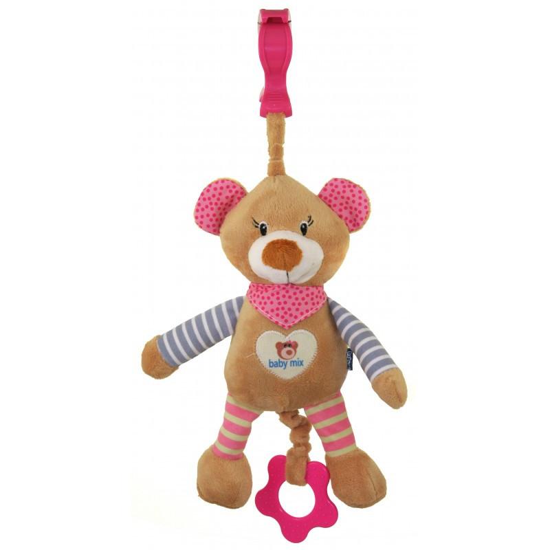 Плюшевая игрушка Baby Mix STK-16393 Медведь
