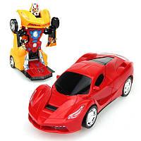 Радиоуправляемая машинка Robot Car красная, желтая