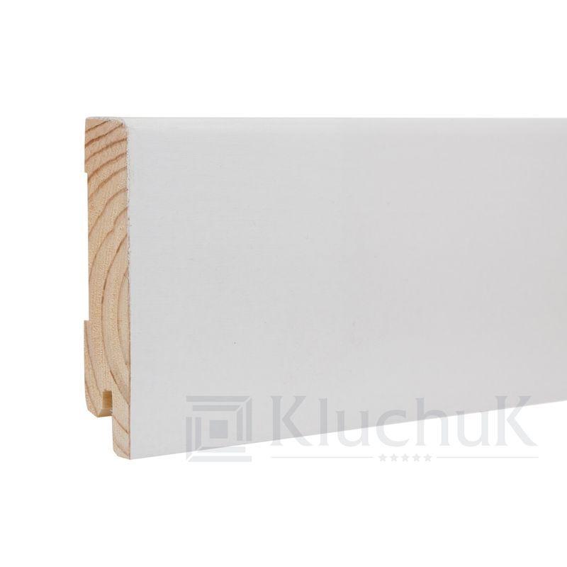 Плинтус White plinth 80х19 Модерн