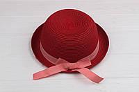 Шляпа детская Дори красная