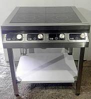 Плита индукционная 4 конфорки 8 кВт