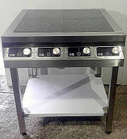 Плита индукционная 4 конфорки 14 кВт