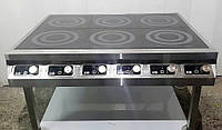 Плита индукционная 6 конфорок 12 кВт