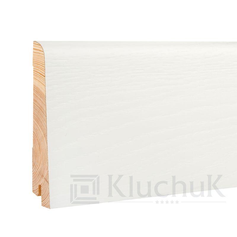 Плинтус White plinth 100х19 Евро