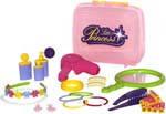 Игровой комплекс Маленькая принцесса №2 мини-парикмахерская /в чемоданчике/Polesie 47311