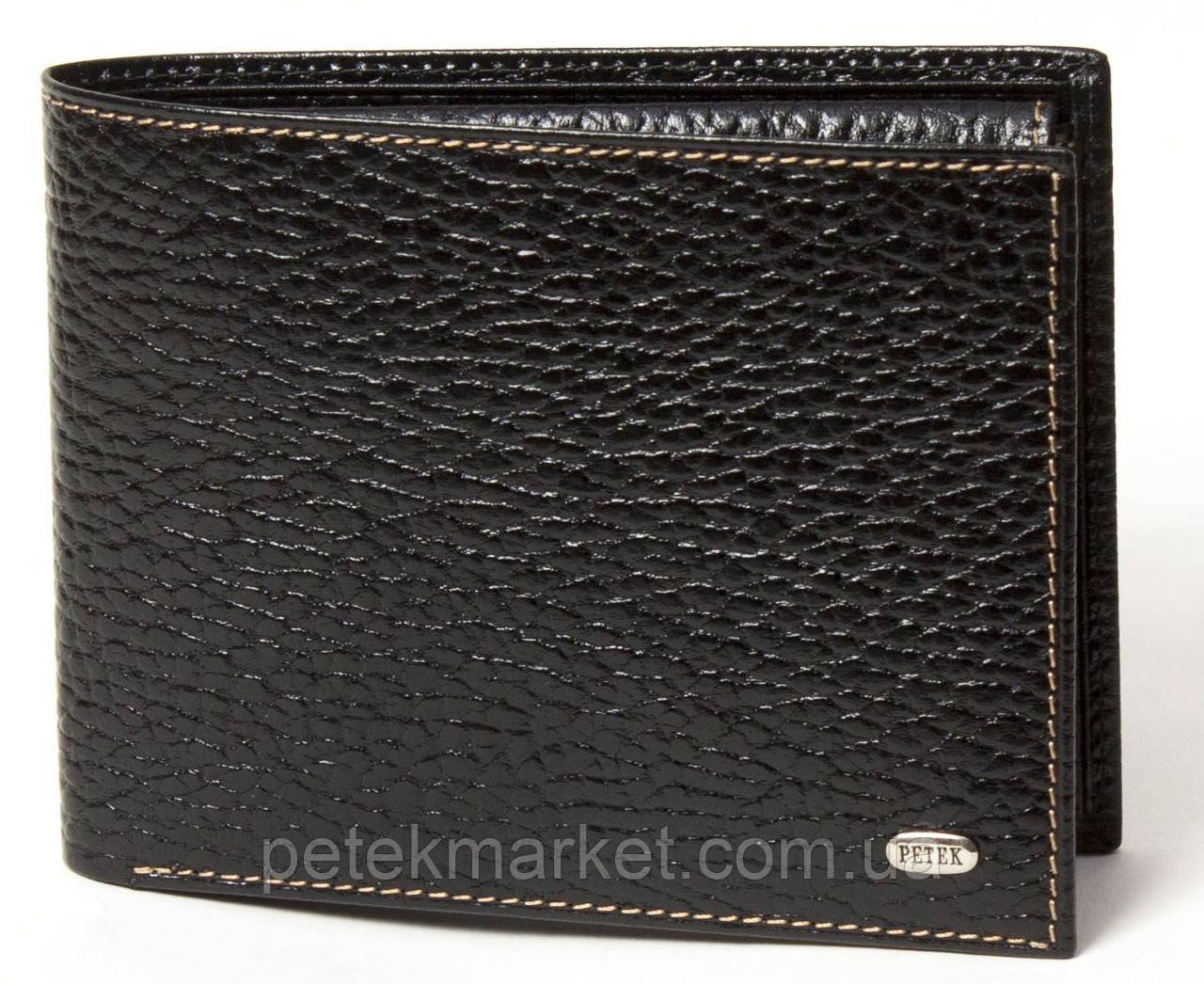 Кожаное мужское портмоне Petek 203