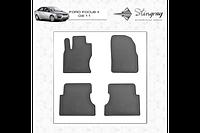 Резиновые коврики (4 шт, Stingray Premium) - Ford Focus II 2005-2008 гг.