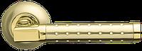ARMADILLO Ручка раздельная Eridan LD37-1SG/GP-4 матовое золото/золото