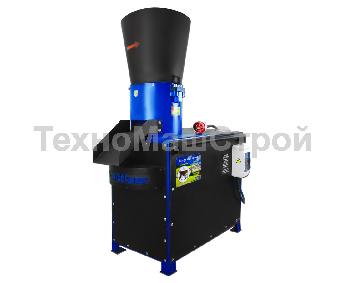 Гранулятор ГКМ 200, 200 кг\час, 5.5 кВт -7.5 кВт