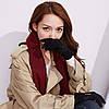 Перчатки женские сенсорные антискользящие iWinter brown ripple, фото 5